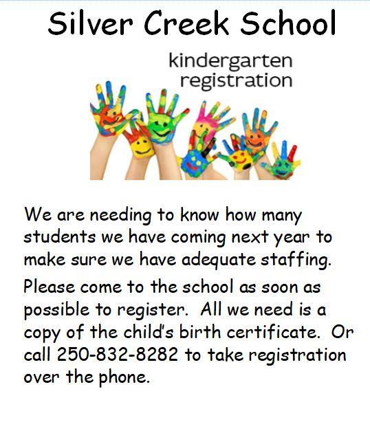 kindergarten poster